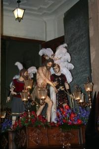JESUS AZOTADO A LA COLUMNA